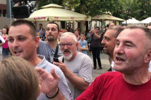 Фашистичка идеологија ВЕЛЕИЗДАЈНИКА и напредњака показала је јуче своје право лице у Шапцу (видео)