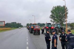 Произвођачи сунцокрета протестовали у Пожаревцу, прете радикализацијом (видео)