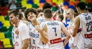 Јуниорска репрезентација Србије не силази са кошаркашког крова Европе