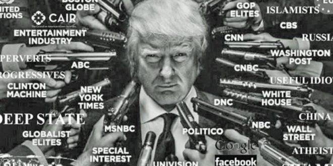 Преко 300 медија у рукама глобалиста организују хајку на Трампа 1