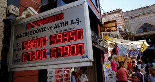 """Турске инвестиције """"на чекању"""" због пада лире 7"""