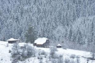 На Златару пао први снег