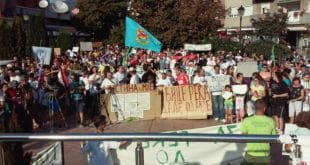 У Пироту одржан велики народни збор против изградње малих хидроелектрана 5