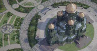 Оружане снаге Русије пред градњом свог главног православног храма високог 95 метара 4