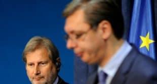 Рикошет: ЕУ комесар Хан добија мито од Вучића да ћути о његовим злочинима?