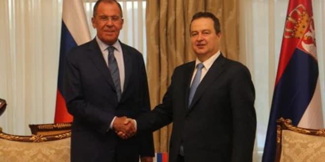 Сергеј Лавров Ивици Дачићу: Русија подржава дијалог Косова и Србије уз неопходност поштовања Резолуције 1244