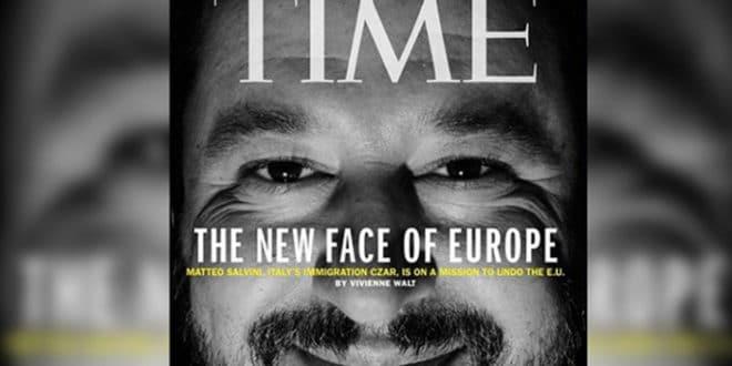 """Утицајни амерички магазин прогласио Матеа Салвинија за """"Ново лице Европе"""" 1"""