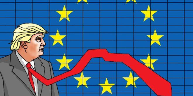 После америчких економских санкција, ЕУ извоз на најнижем нивоу у задњих пет година 1