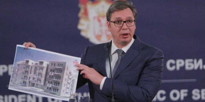 Вучићева најава изградње јефтиних станова за припаднике безбедносног сектора личи на причу о цени белог хлеба за три динара 1
