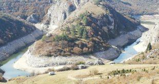 Кањон Увац, јутрос 12