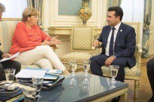 Меркел тражи од Македонаца да се повинују резултатима пропалог референдума?!