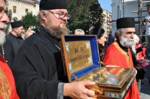 Како у Србији дочекују руске светиње: Руси Србима предлажу да заједно излију звоно на Косовом пољу