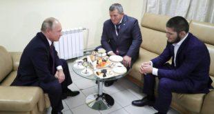 Путин честитао Нурмагомедову: Сви ми Руси можемо тако да скочимо да неће знати шта их је снашло (видео) 6