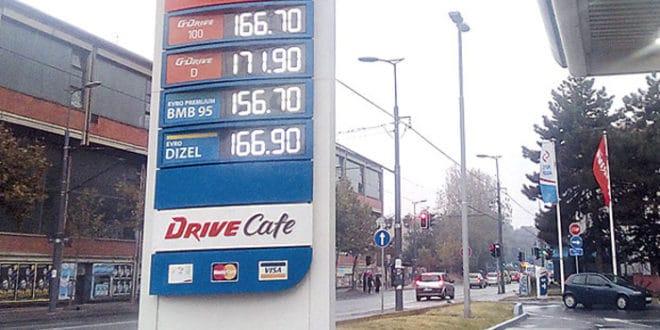 Цене горива настављају раст!