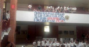 Даниловградски гимназијалци опет у одбрани ћирилице