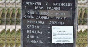 """Хрватска: У току јавна расправа о Закону о гробљима, на основу којег би се уклонили споменици и натписи којима се """"велича сама агресија или великосрпство"""" 3"""