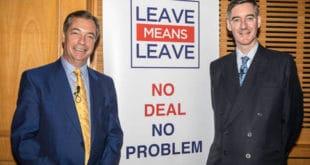 Најџел Фараж: Пошто су британски лидери ударили у зид у преговорима о напуштању ЕУ, морам да прекинем пензију како бих осигурао да Брегзит успе