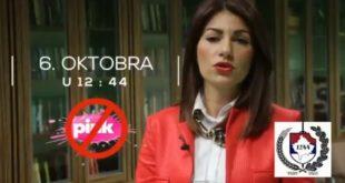 ЗА ЖИВОТ! ЗА СРБИЈУ!  СВИ ИСПРЕД ПИНКА 6.октобра у 12:44! (видео) 2