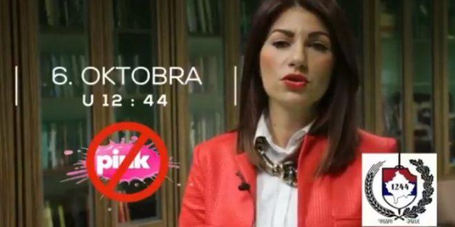 ЗА ЖИВОТ! ЗА СРБИЈУ!  СВИ ИСПРЕД ПИНКА 6.октобра у 12:44! (видео) 1