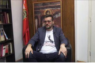 СРЂАН НОГО: Ако због Ане Брнабић уђе милион миграната у Србију, да заврши на Теразијама (видео)