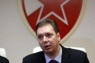 Вучић већ почео да заташкава аферу са намештањем резултата у Црвеној Звезди!