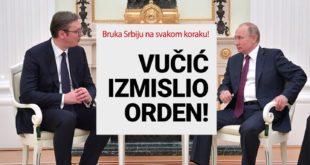 СКАНДАЛ! Путин није одликовао Вучића! Докази да је Вучић слагао да је добио орден (видео) 13