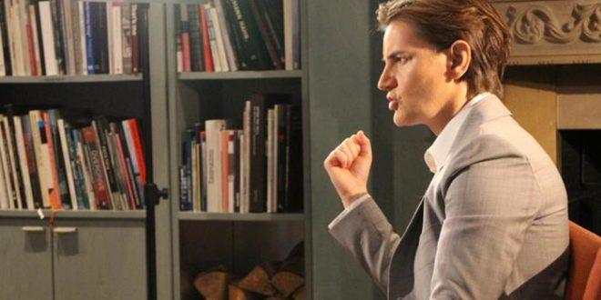 Брнабићка у интервјуу немачким медијима бранила лажи које промовише напредњачки режим