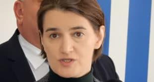 Брнабић: Агресију у друштво пре свега уносе лидери Савеза за Србију 4