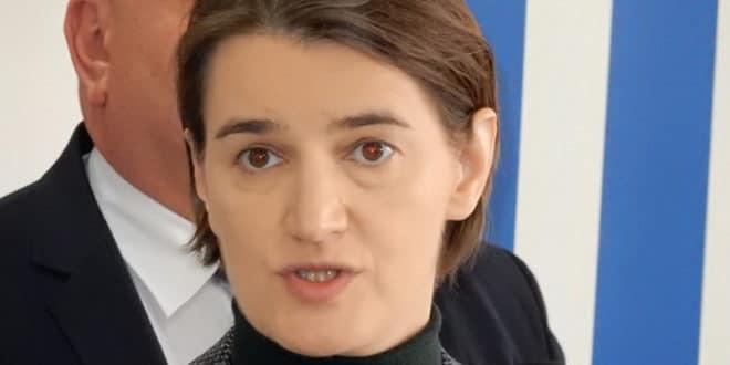 Брнабић: Агресију у друштво пре свега уносе лидери Савеза за Србију
