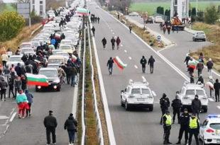 Бугарска: Због високе цене горива, блокирани путеви и гранични прелази с Турском и Грчком