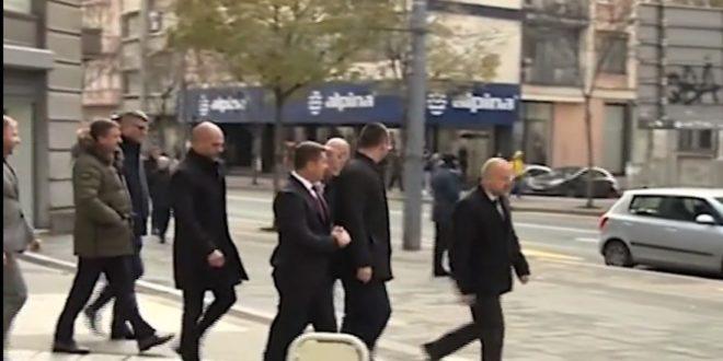 Велеиздајничка банда са Косова на челу са Радоичићем опет код Вучића