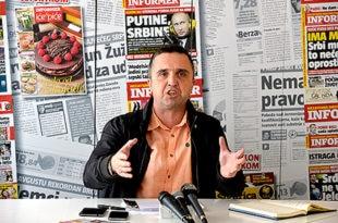 Беливуков адвокат тврди да је Драган Ј. Вучићевић читао лажне транскрипте у емисији