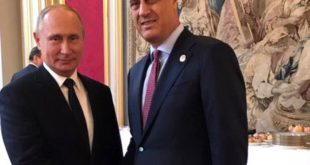 """Тачи разговарао са Путином о """"споразуму"""" са Србијом (фото) 7"""