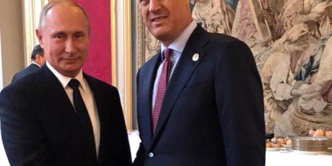 """Тачи разговарао са Путином о """"споразуму"""" са Србијом (фото)"""