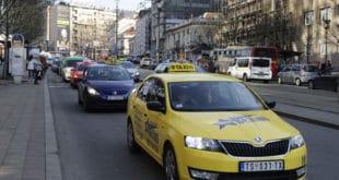 Београд: Данас протест таксиста, окупираће центар 3