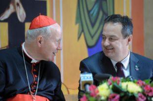 Ти ћеш ђубре комуњарско да позиваш папу у православну Србију!?