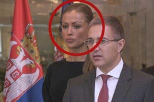 Небојша Стефановић: Дијана Хркаловић више не ради у МУП, а све остало даље је њена приватна ствар