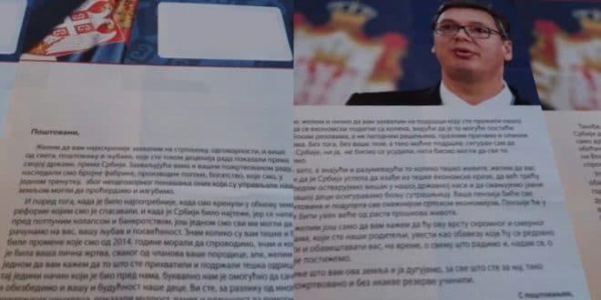 Сена Тодоровић: Отворено писмо Вучићу, поводом захвалнице за отимање пензије 1