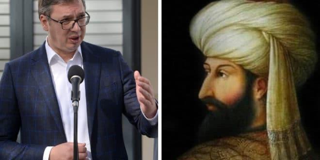 СРБИ СА КОСОВА: Вучић ће добити турски орден Мехмеда Другог Освајача? 1
