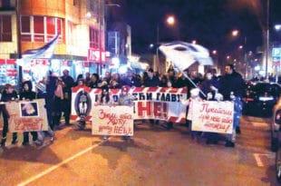 Аранђеловац: Други протест родитеља против нарко дилера и њихових заштитника у полицији и тужилаштву!