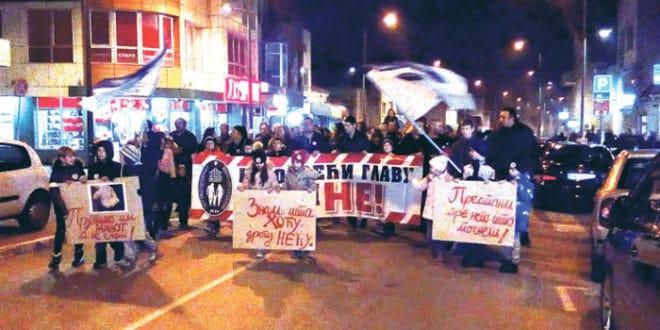 Аранђеловац: Други протест родитеља против нарко дилера и њихових заштитника у полицији и тужилаштву! 1
