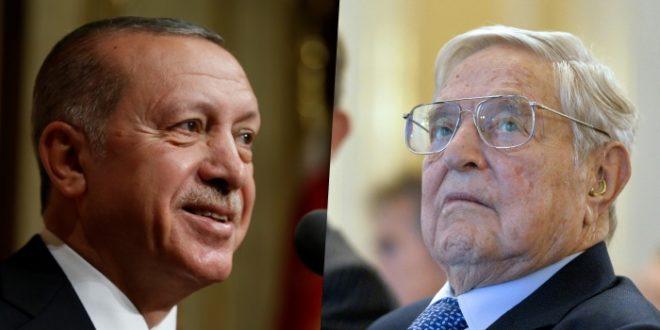 Ердоган протерао Сороша из Турске! 1
