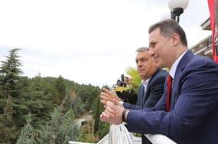 Заев: Груевски дипломатским возилом прешао у Албанију - уточиште тражи у Русији или Турској