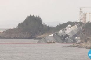 Још један инцидент на војним вежбама НАТО-а у Норвешкој: Фрегата ударила у танкер (видео)