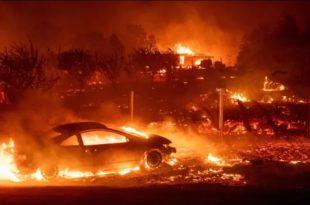Најмање 48 мртвих у пожарима у Калифорнији (видео)