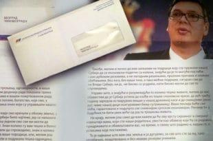 Војни пензионери Александру Вучића: Понижени смо лицемерним писмом које смо добили у ковертама СНС