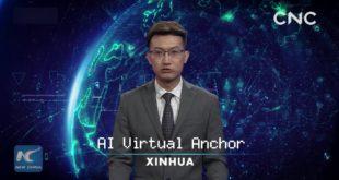 Кинеска државна новинска агенција Синхуа представила хуманоидног робота кога покреће АИ