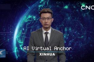 Кинеска државна новинска агенција Синхуа представила хуманоидног робота кога покреће АИ 5