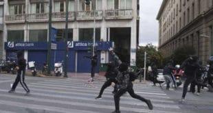 Солун: Жесток сукоб грчке деснице са полицијом (видео) 9