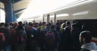 У возу у Бихаћу 246 миграната у блокади 11